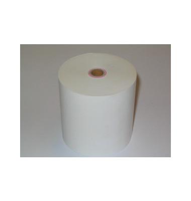 Thermorollen 80mm x 80m x 12mm weiß