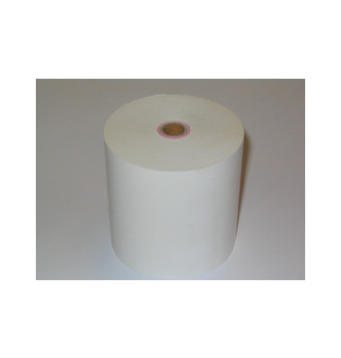 Thermorollen 57mm x 25m Kern-Ø 12,3mm weiß