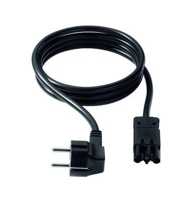 Gerätezuleitung f. System CONI schwarz Länge 4m