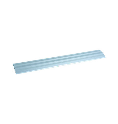 Kabelkanal Aluprofil geriffelt aluminium/silber Länge 2m 3 Kammer