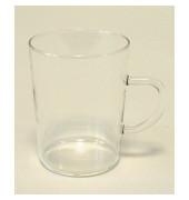 Teeglas Bohemia-Cristal 250 ml mit Henkel 69x90mm 6 Stück