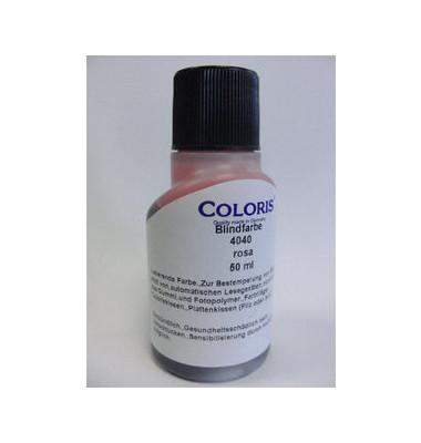 Stempelfarbe 4040 Blindfarbe 50ml Flasche rosa