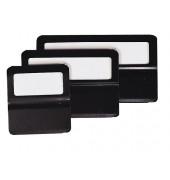 Fensterreiter Metall schwarz 50mm 25 Stück