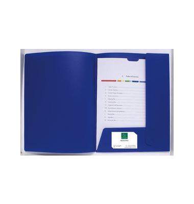 Präsentationsmappe Kreacover blau