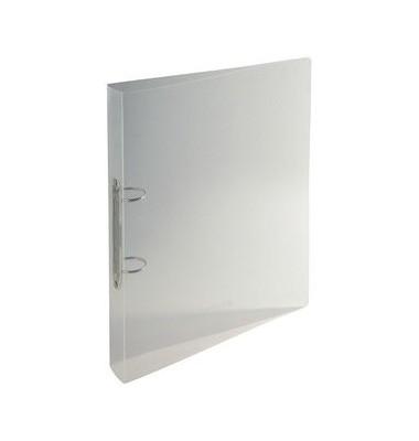 54342E A4 30 mm 2 Ring - Buch transparent Kristall klar