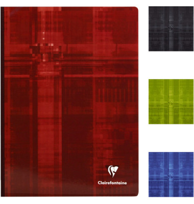 Geschäftsbuch 69142C farbig sortiert A4 kariert 90g 96 Blatt 192 Seiten
