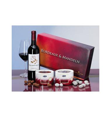 Bordeaux Roth.+Weihn.mandeln 2006er 0,75l/2x150g 3 Teile