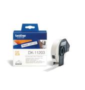 DK-11203 Ordnerregister Etiketten 87x17mm weiß 300 Stück