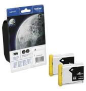 Druckerpatrone LC1000BKBP2 schwarz 500 Seiten 2er Pack