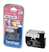 P-touch Schriftband MK-231BZ 12mm x 8m schwarz/weiß selbstklebend