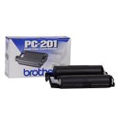 Farbband-Thermo PC-201 für Fax schwarz Mehrfachkassette