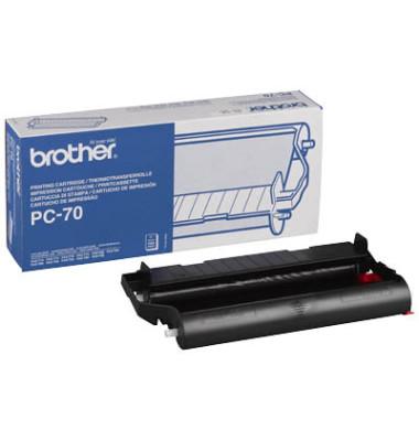 Thermotransferband PC-70 für schwarz 144 Seiten