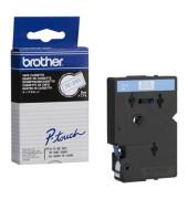 P-touch Schriftband TC-293 9mm x 7,7m blau/weiß laminiert selbstklebend