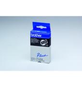 P-Touch Schriftband TC-395 weiß auf schwarz 9mm x 7,7m