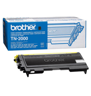 Toner TN-2000 schwarz ca 2500 Seiten