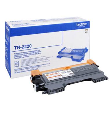 Toner TN-2220 schwarz ca 2600 Seiten