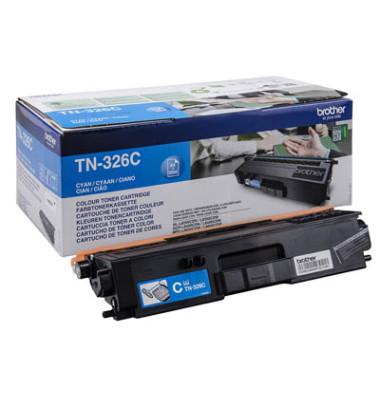 Toner TN-326C cyan ca 3500 Seiten