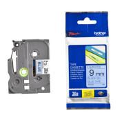 Schriftbandkassette TZe-521 9mm x 8m schwarz/blau laminiert