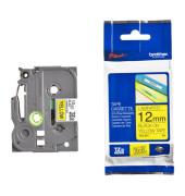 Schriftbandkassette TZe-631 12mm x 8m schwarz/gelb laminiert