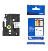 Schriftbandkassette TZe-N221 9mm x 8m schwarz/weiß