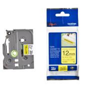 Schriftbandkassette TZe-S631 12mm x 8m sw/gelb laminiert
