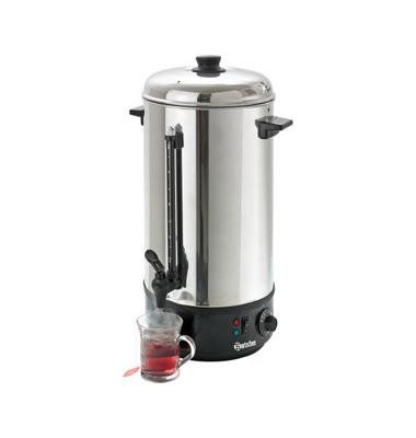 Heißwasser-Spender 10L 2,3kW sw/si D205mmH505mm 230V