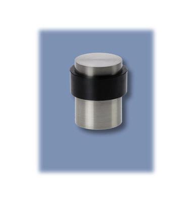 Boden-Türstopper silber H41mm D30mm Edelst.