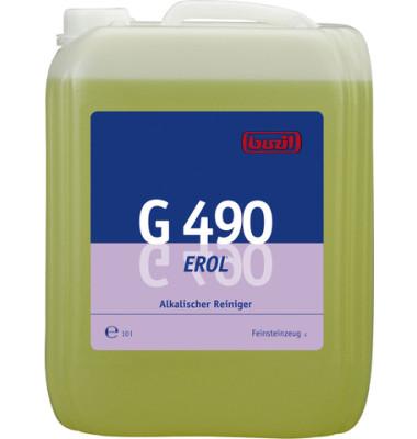 Spezialreiniger Erol G 490 alkalisch Kanister 10 Liter