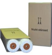 Plotterpapier 594mm x 150m 90g hochweiß opak unbeschichtet 2 Rollen