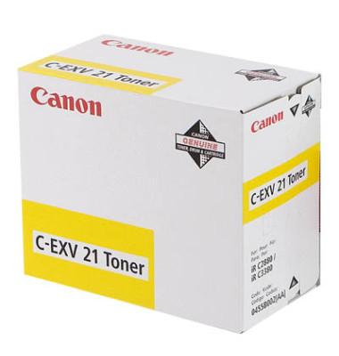 Toner C-EXV21Y gelb ca 14000 Seiten