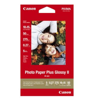 Inkjet-Fotopapier 10x15cm PP-201 hochglänzend 260g 50 Blatt