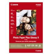 Inkjet-Fotopapier A4 PP-201 einseitig hochglänzend 275g 20 Blatt