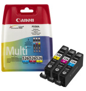 Druckerpatrone CLI-526 Multipack für PIXMA cyan/magenta/gelb