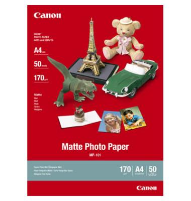 Inkjet-Fotopapier A4 MP-101 einseitig matt 170g 50 Blatt