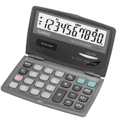 Taschenrechner SL-210TE 10-stellig blau