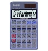 Taschenrechner SL-320TER+ Solar-/Batterie LCD-Display blau 1-zeilig 12-stellig