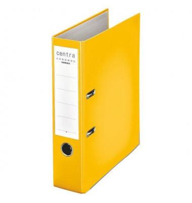 Chromos gelb Ordner A4 80mm breit
