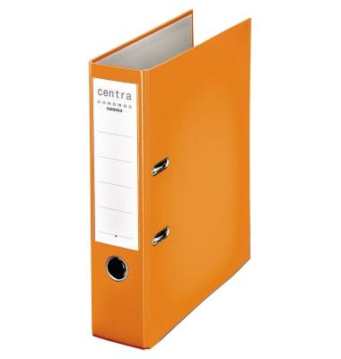 Chromos orange Ordner A4 80mm breit