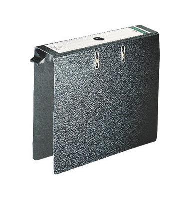 Hängeordner A4 schwarz 80 mm mit Griffloch 280210 Recycling