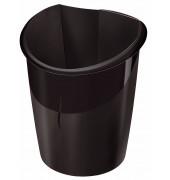 Papierkorb Isis 15 Liter schwarz