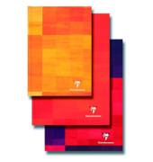 Notizbuch 11 x 17 cm kariert weiß 96 Blatt
