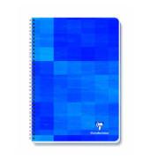 Konferenzblock kariert blau A4 90g 80 Blatt