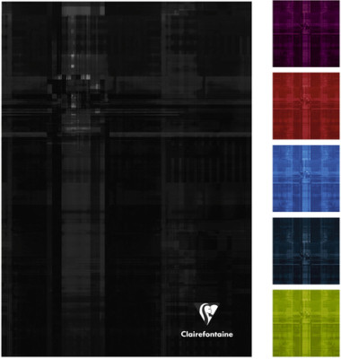 Geschäftsbuch 9040C farbig sortiert A4 blanko 90g 96 Blatt 192 Seiten