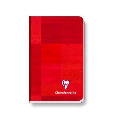 Notizbuch 9592C farbig sortiert 9x14cm kariert 90g 96 Blatt 192 Seiten