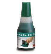 Stempelfarbe 801 ohne Öl 25ml Flasche grün