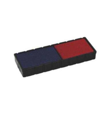 Stempelkissen E/12/2 blau/rot 2er