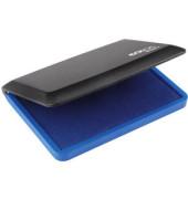 Stempelkissen Micro/2 Größe 2 blau getränkt 11x7cm im Kunststoffgehäuse