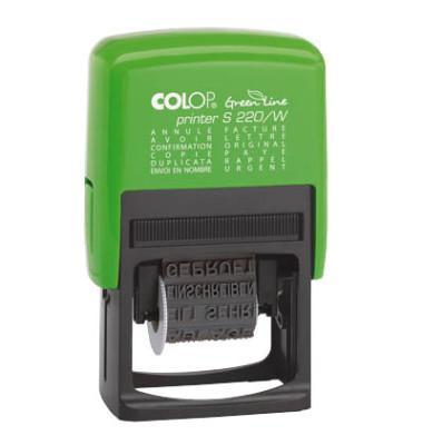 Wortbandste.Printer Green Line grün 4mm selbstf.