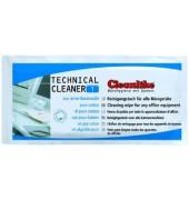 Universal-Reinigungstuch Technical Cleaner 1 für alle Bürogeräte mit Alkohol