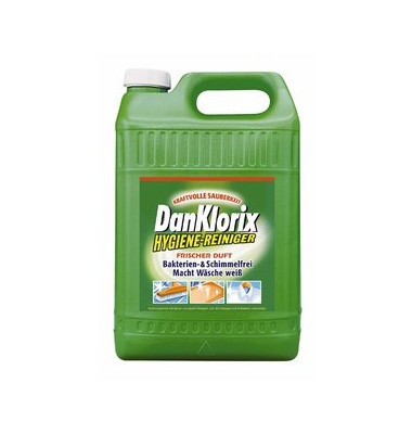 Hygienereiniger frischer Duft grün Kanister 2 x 5 Liter